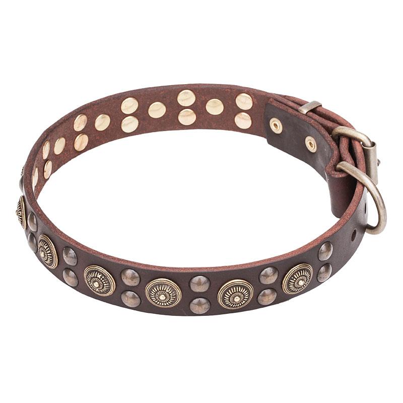 Collar original para perro grande «Estilo Bohemio»